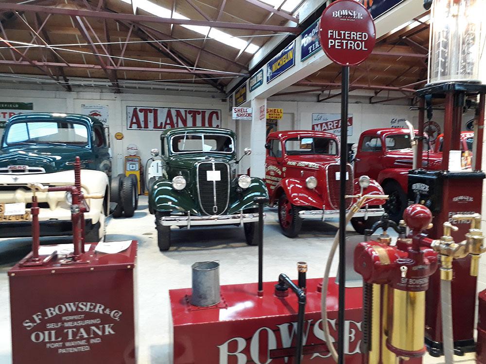 Bill Richardson truck museum an interesting stop on the tour to Stewart Island
