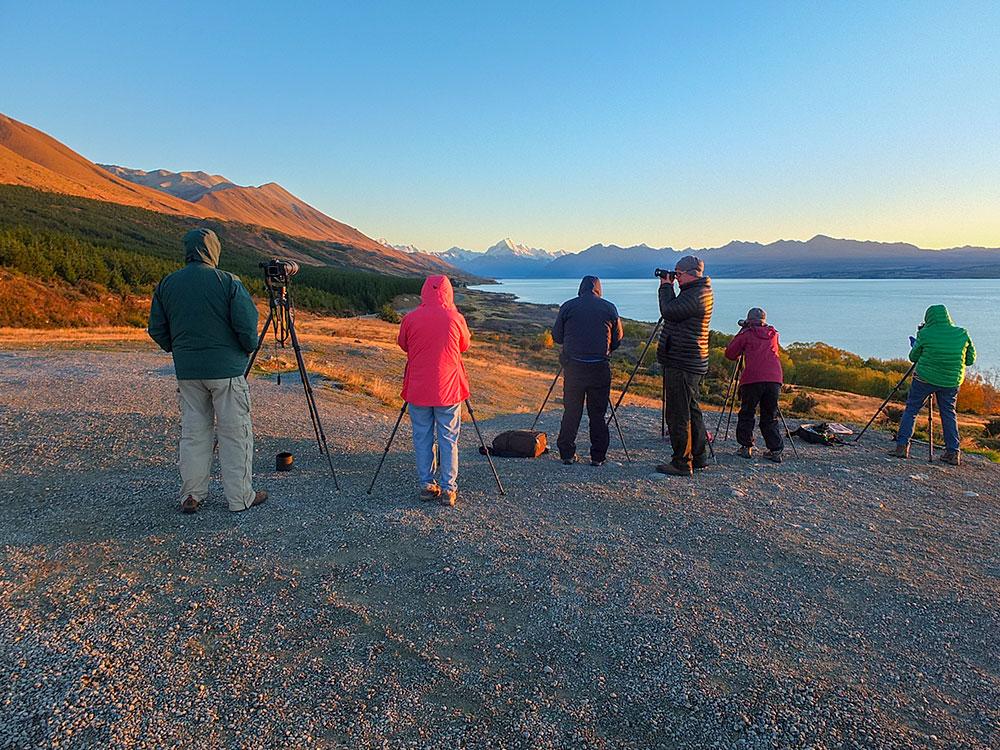 Photography tour to Lake Pukaki, Mt Cook