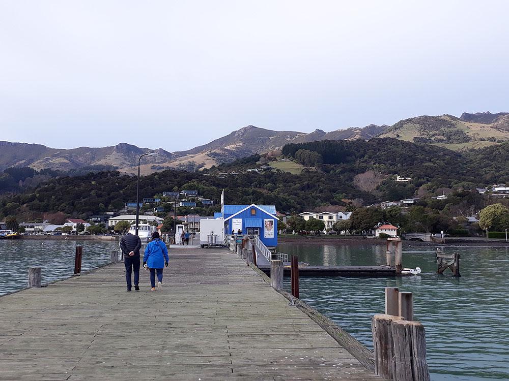 Small group tours of Akaroa NZ