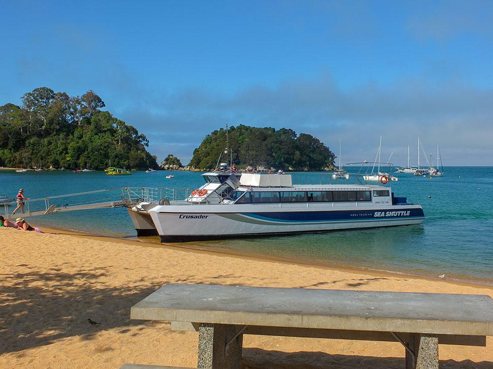 Enjoy cruising the Abel Tasman to see nature and wildlife as part of your tour
