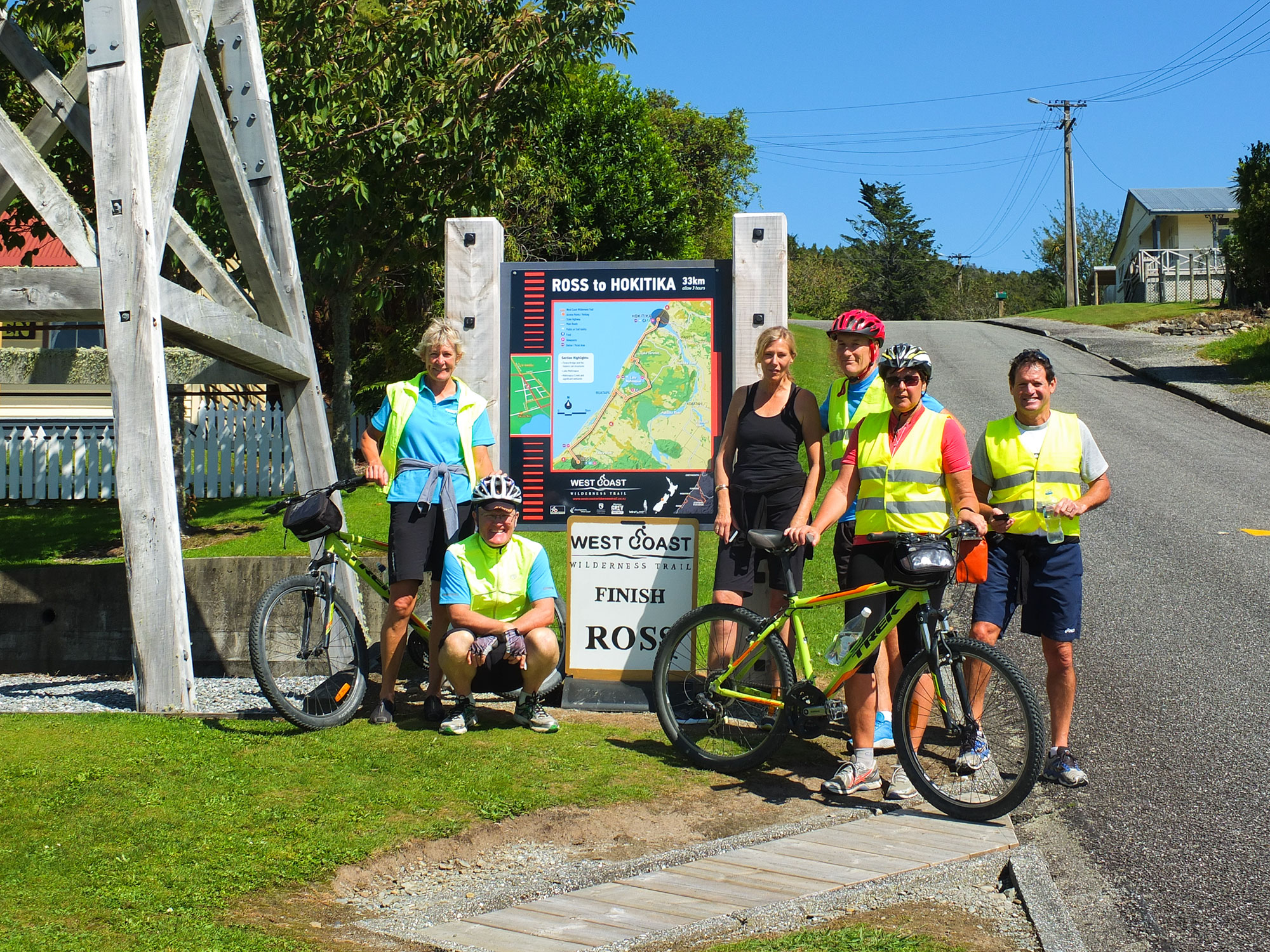 West Coast Wilderness Trail Cycle Tour